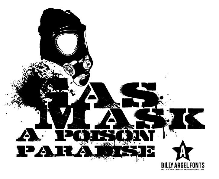 Download Free Font Gasmask