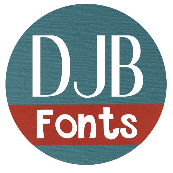 Download Free Font DJB I Love Me Some Aly