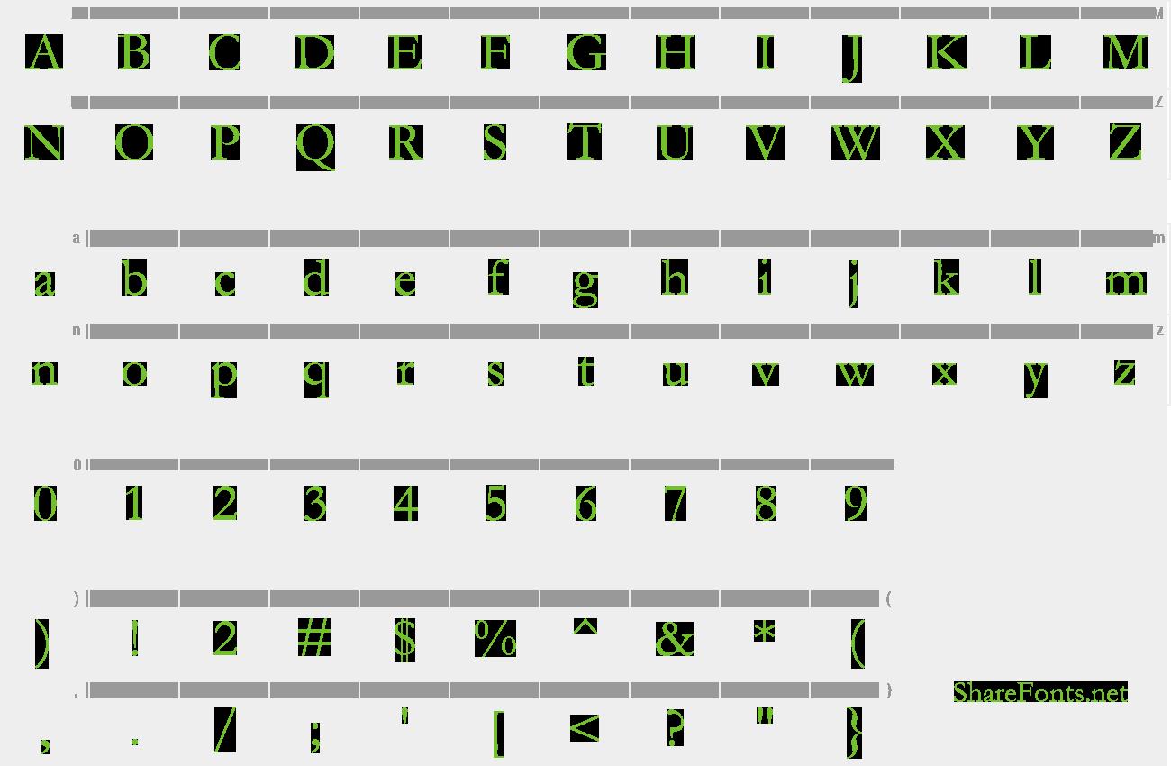 Download Free Font Garamond