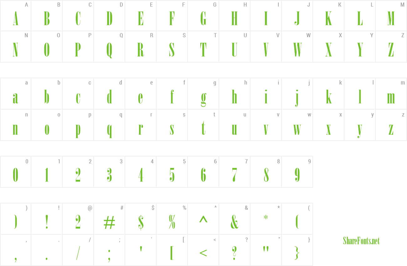 Download Free Font Onyx