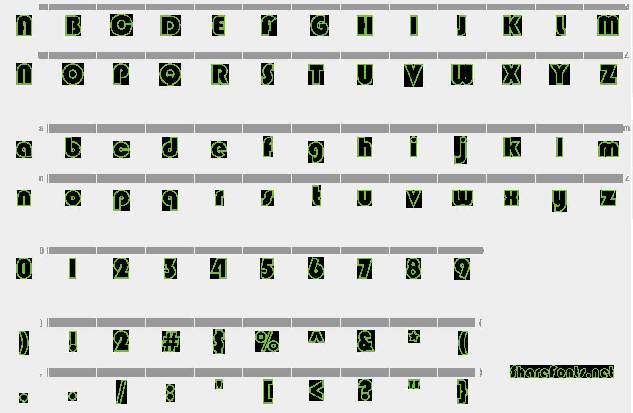 Download Free Font STCaiyun