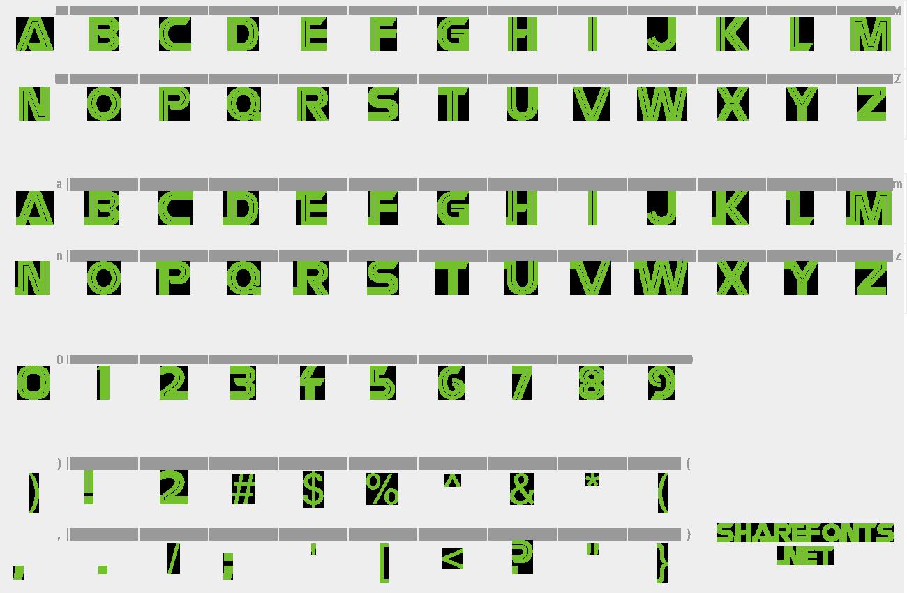 Download Free Font Battlestar