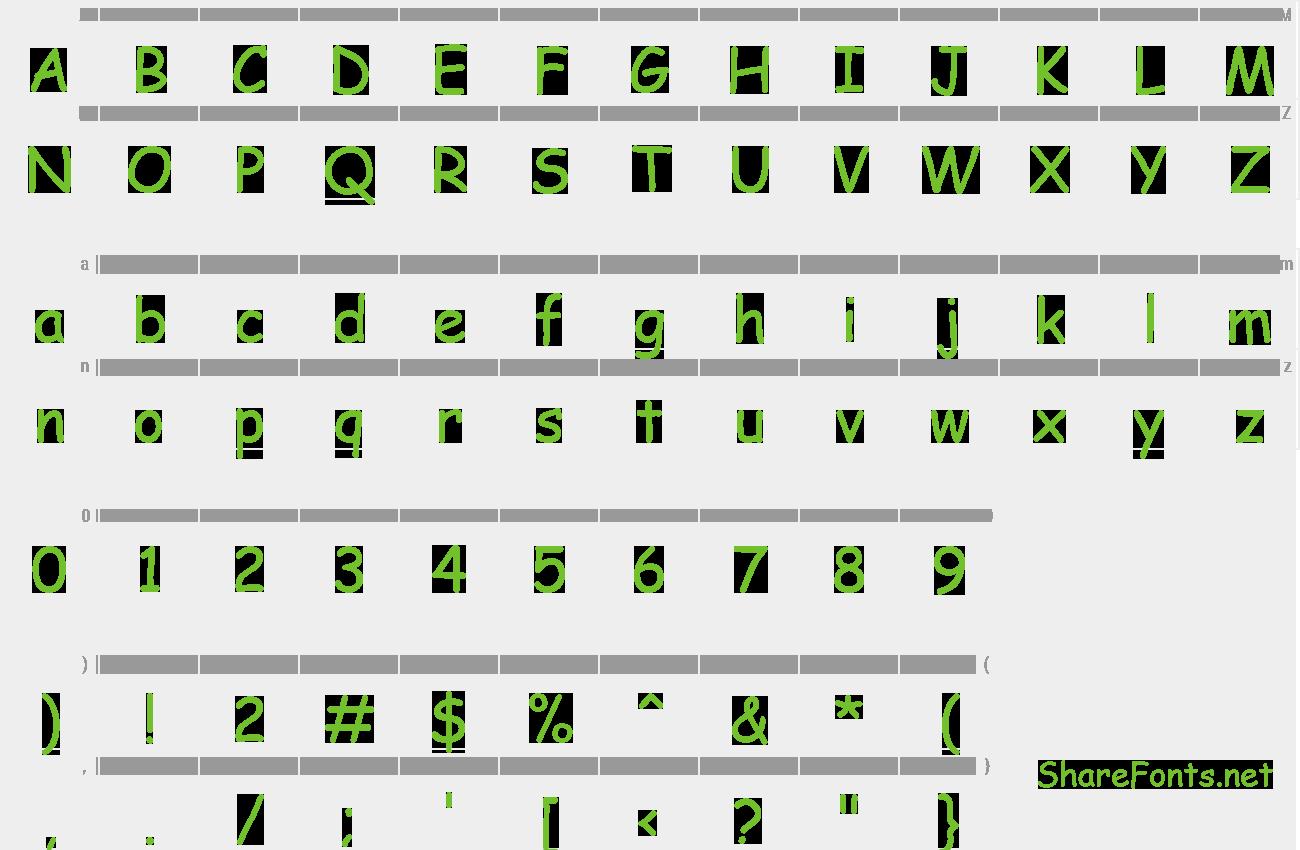 Download Free Font Comic Sans MS