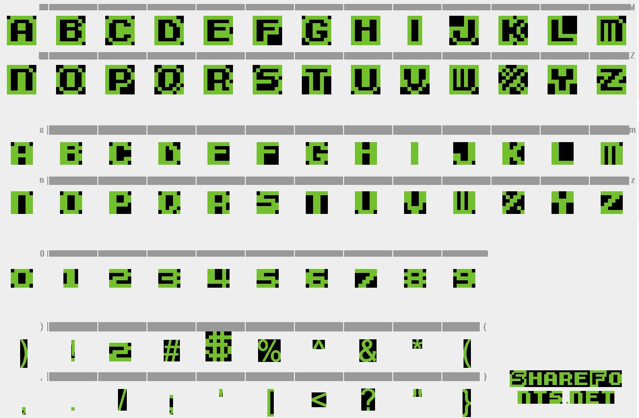 Download Free Font Super Mario Bros  3