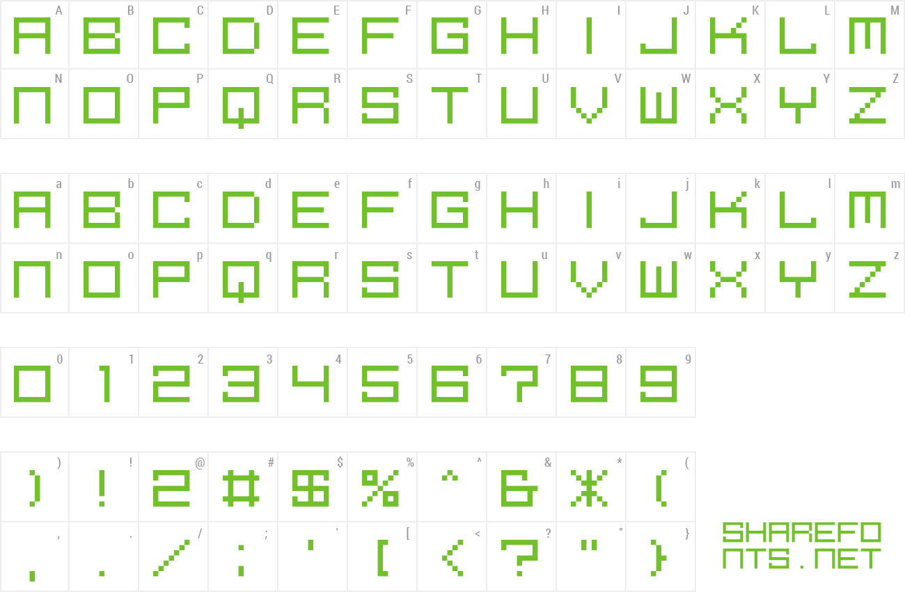 Font M39_SQUAREFUTURE preview