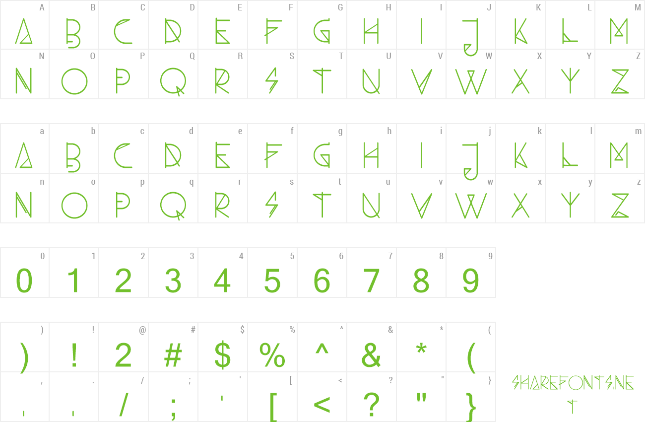 Font Ambo preview