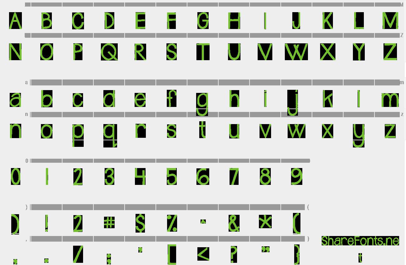 Download Free Font Janda Safe And Sound Solid