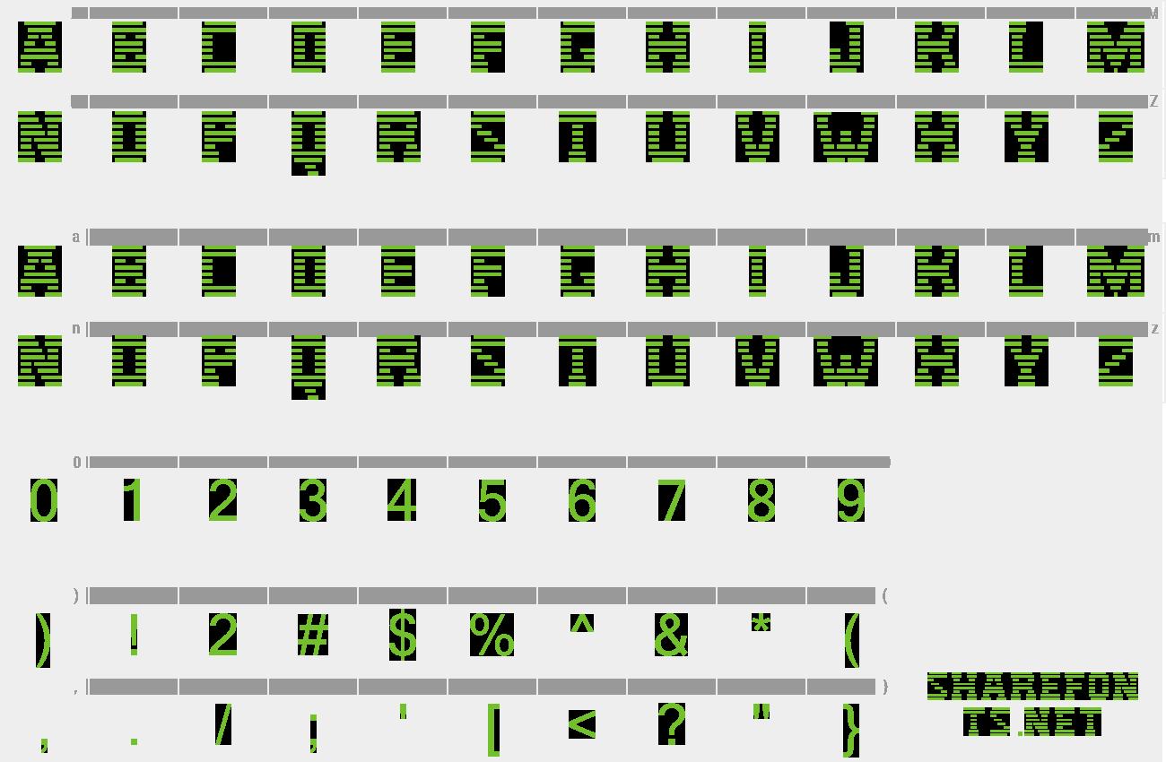 Download Free Font IBM Logo