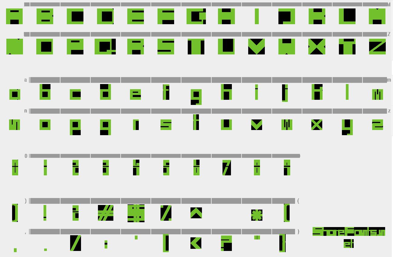 Download Free Font Sci Fi Box