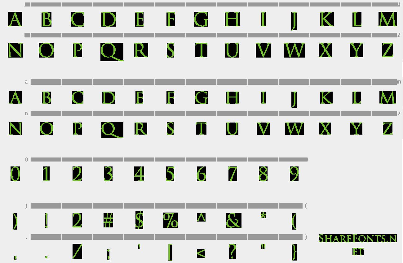 Download Free Font Trajan Pro