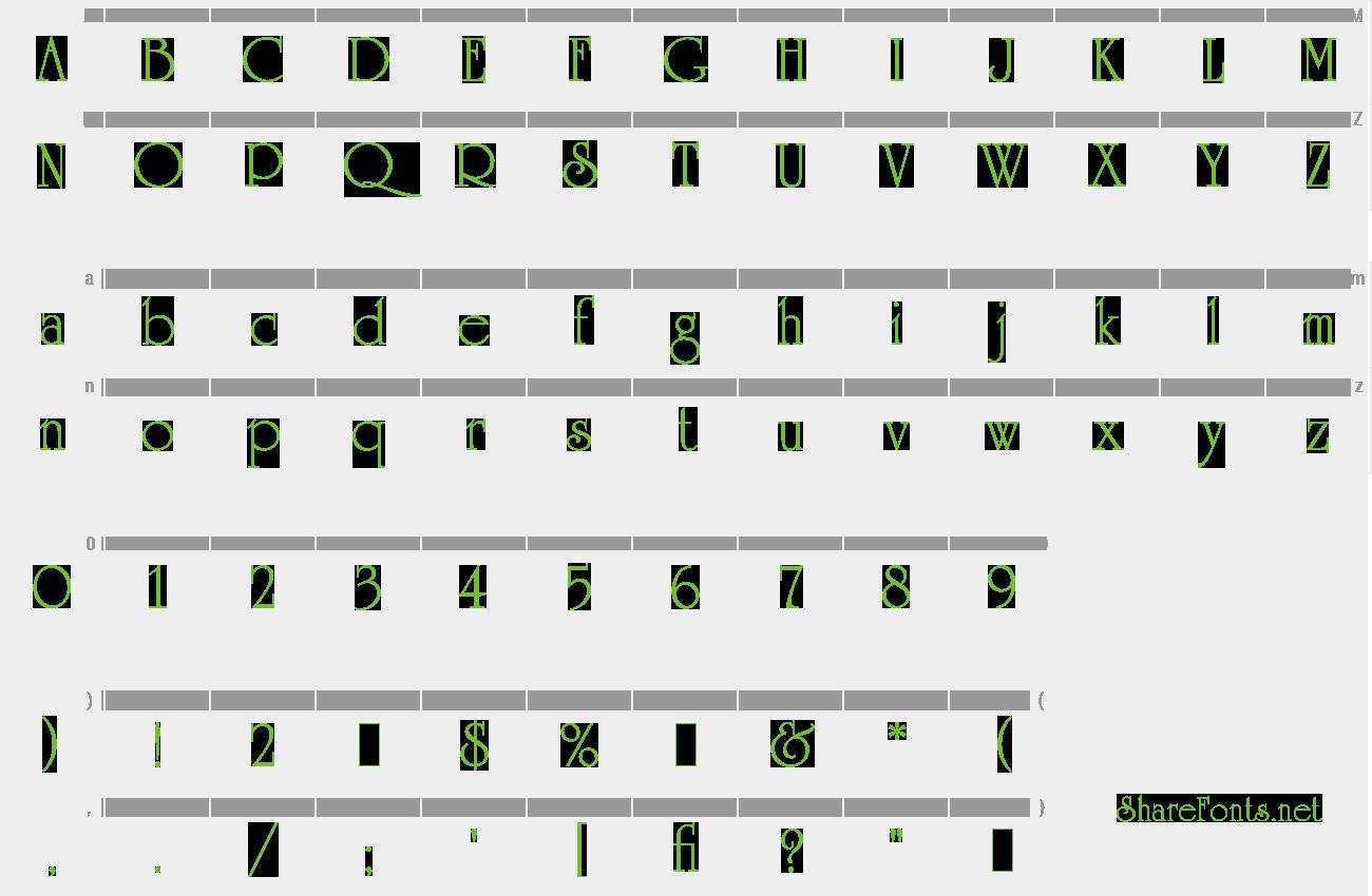 Download Free Font University Roman LET