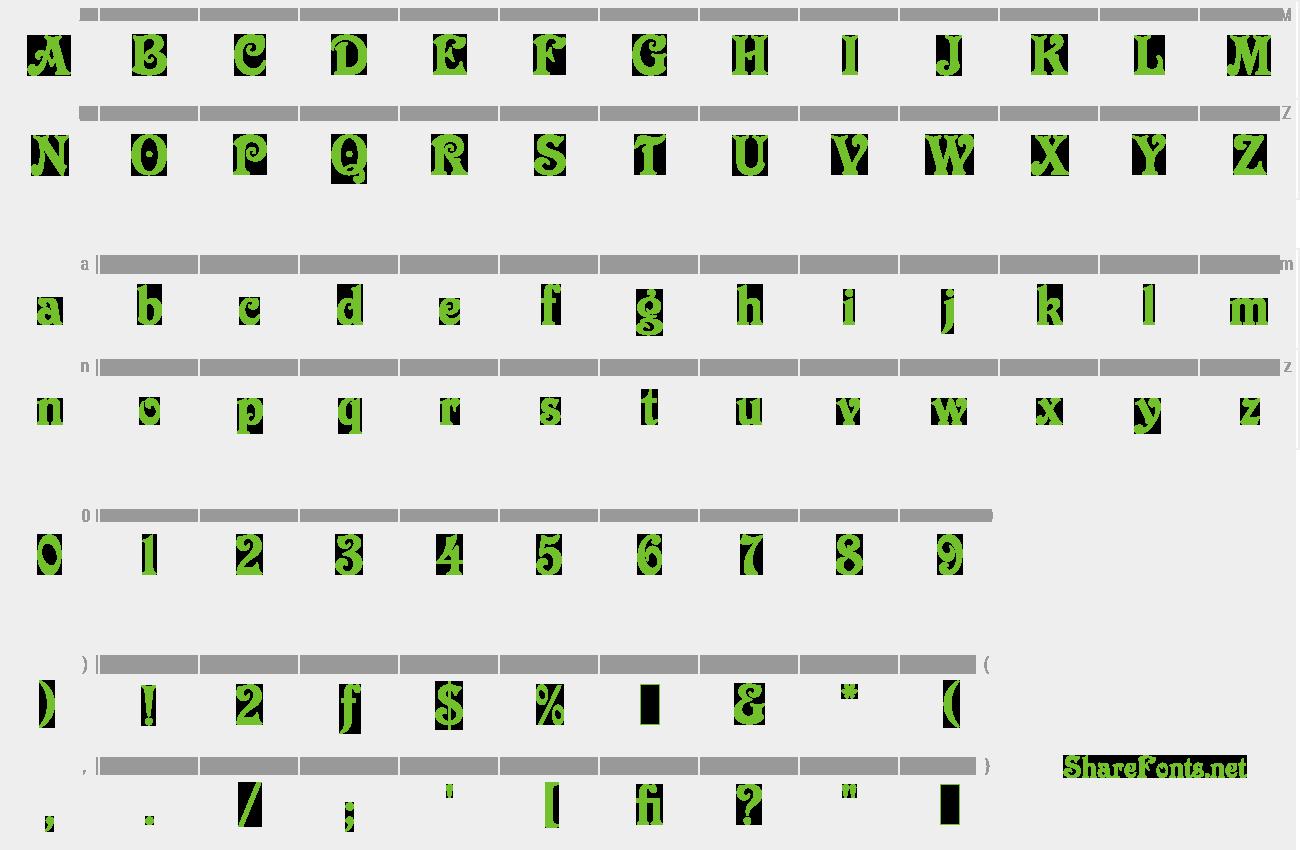Download Free Font Victorian LET