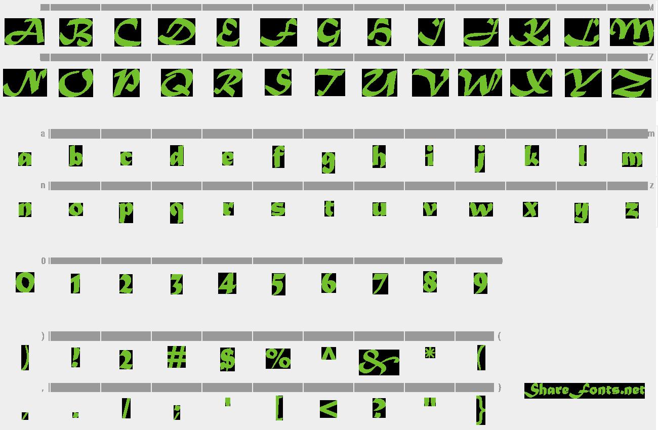 Download Free Font Matura MT Script Capitals