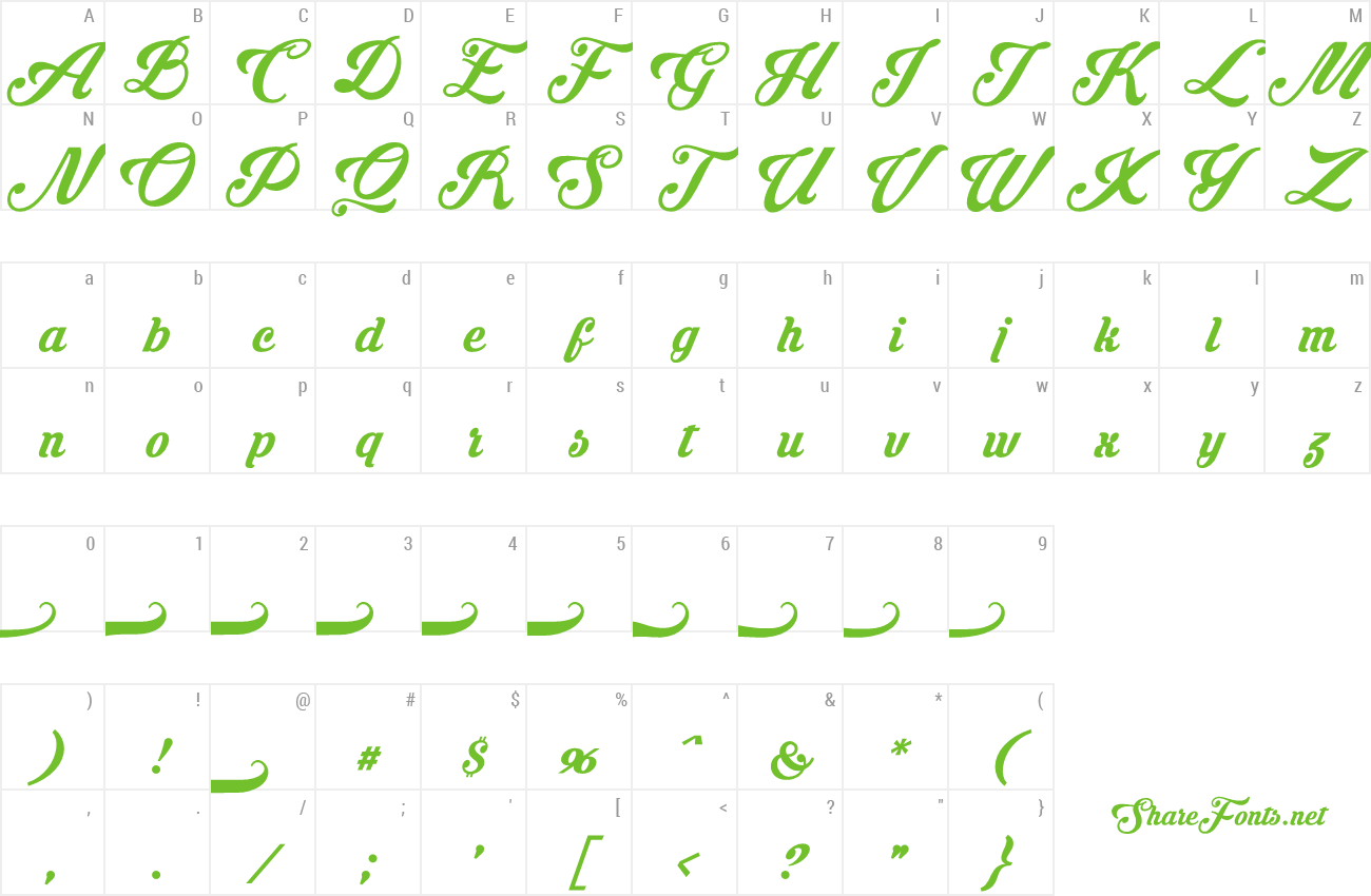 Download Free Font Krinkes Regular PERSONAL USE