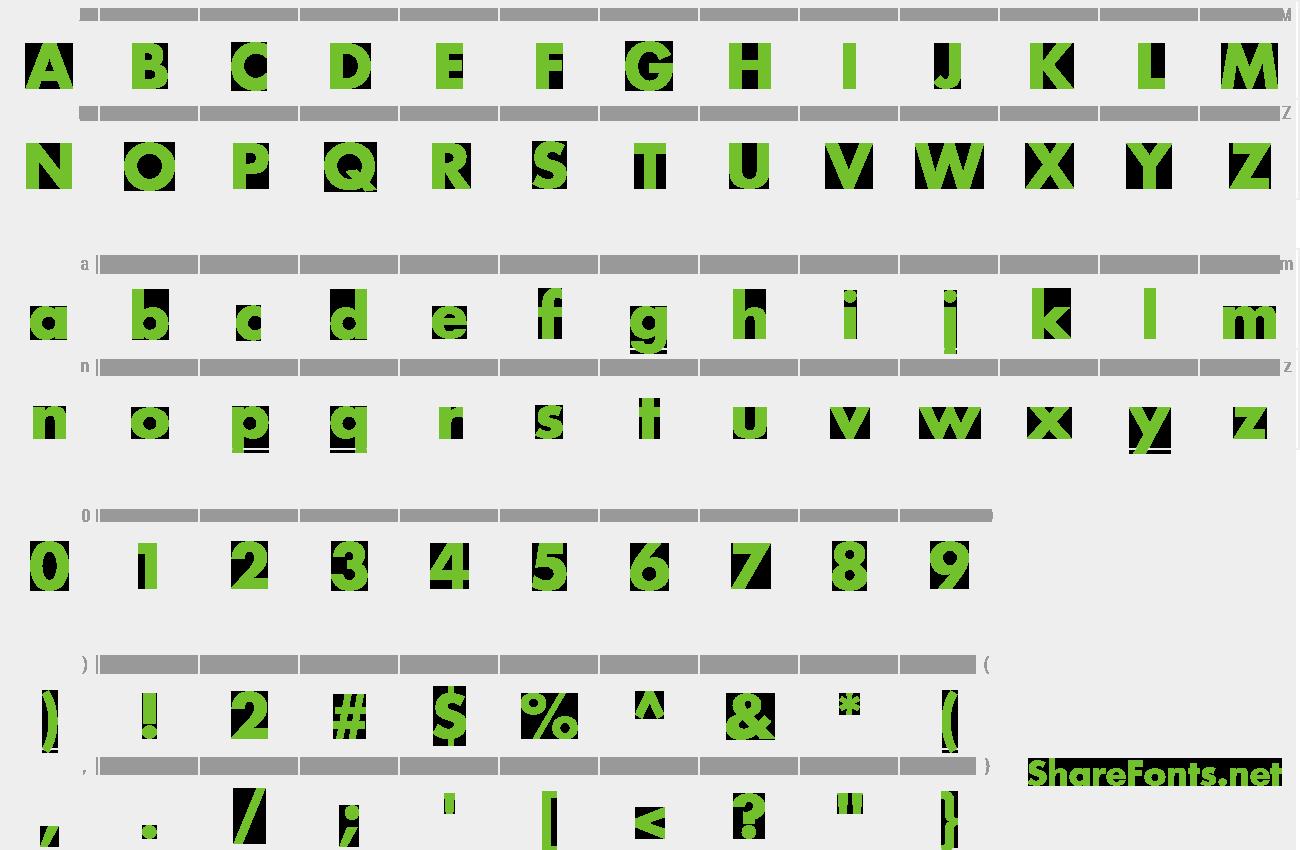 Download Free Font Futura