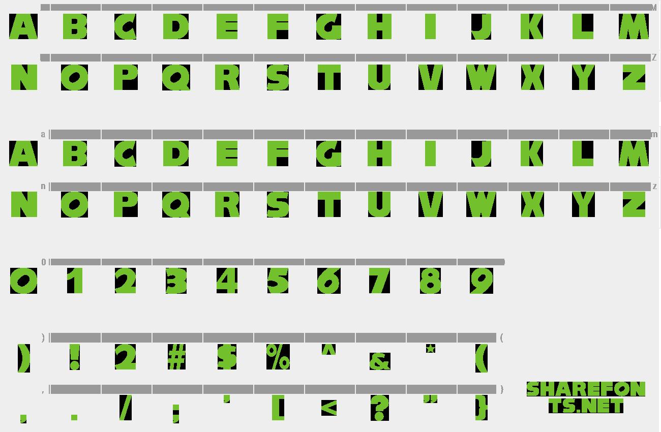 Download Free Font Nisesonic