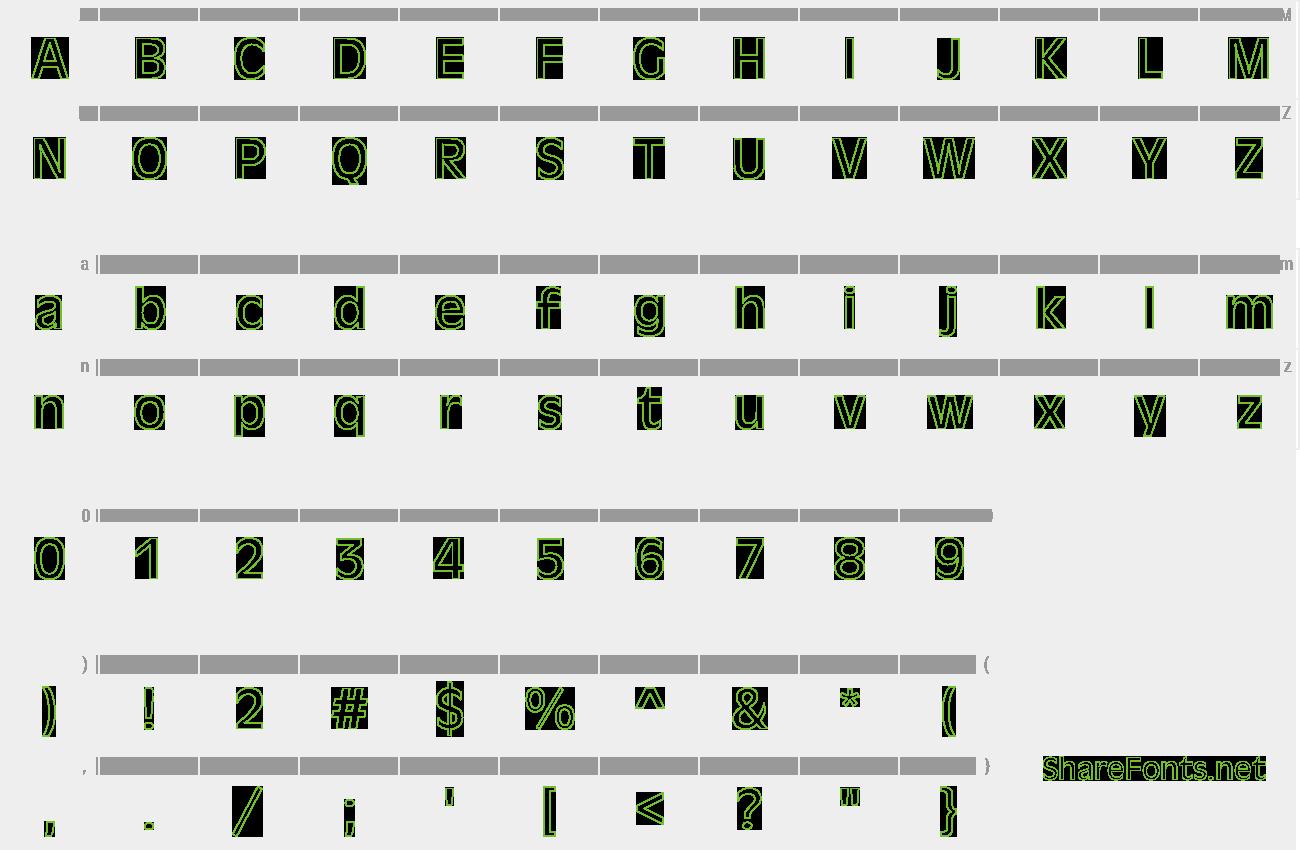 Download Free Font Antique-Olive Ho