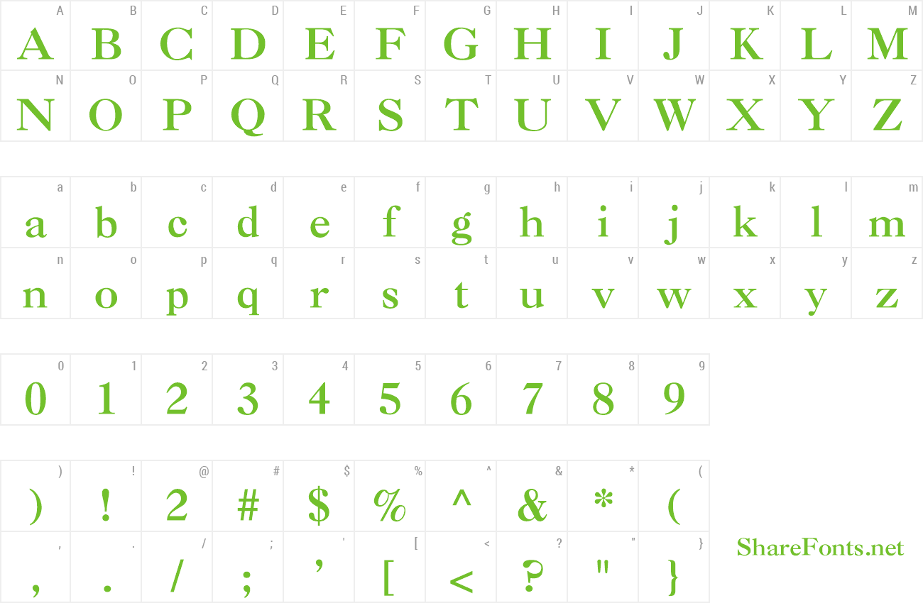 Download Free Font Caslon-Bold