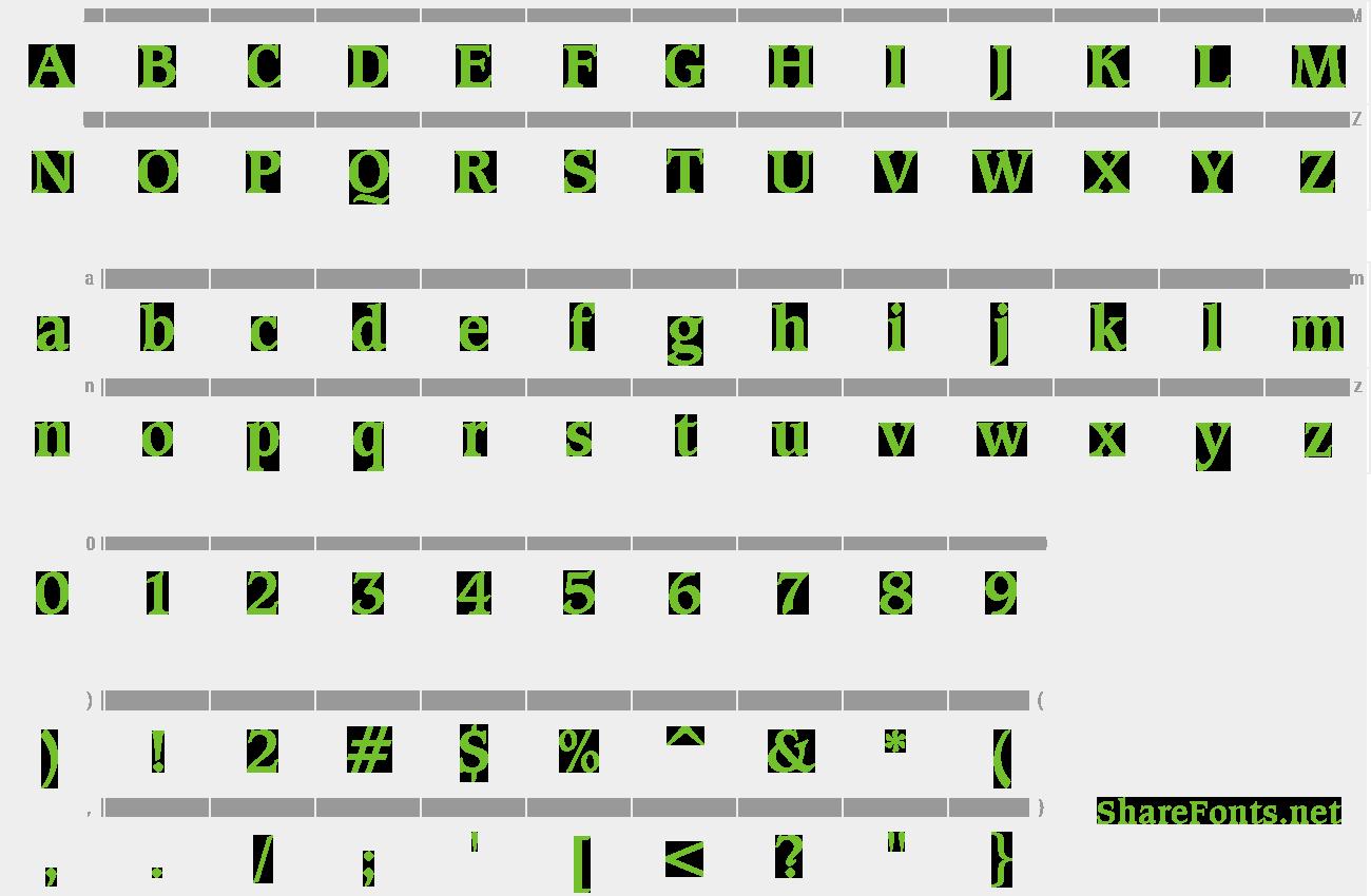 caxton bk bt font