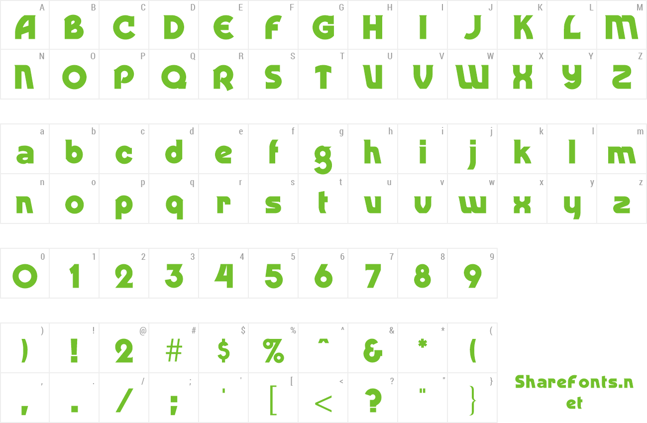 Download Free Font Ding-Dong