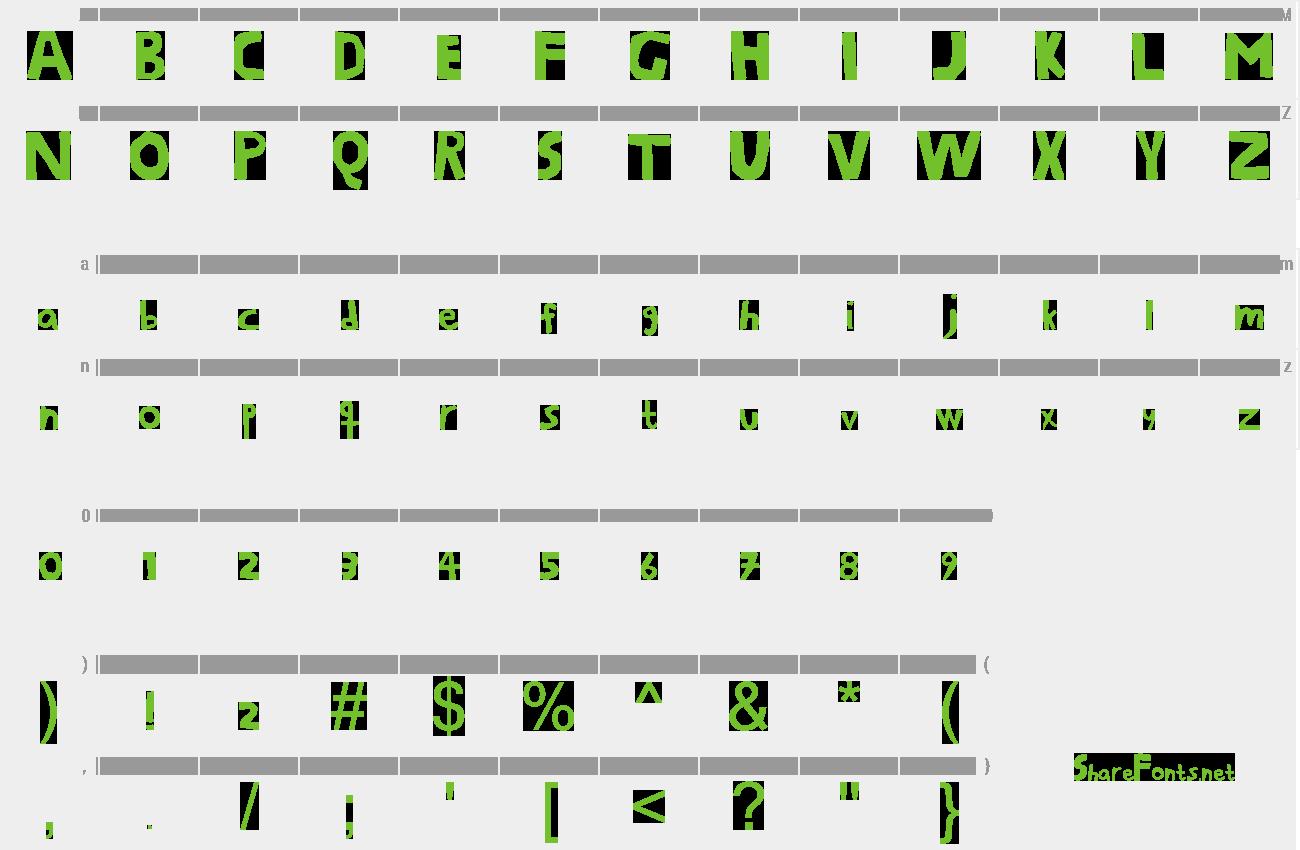 fonts per gimp