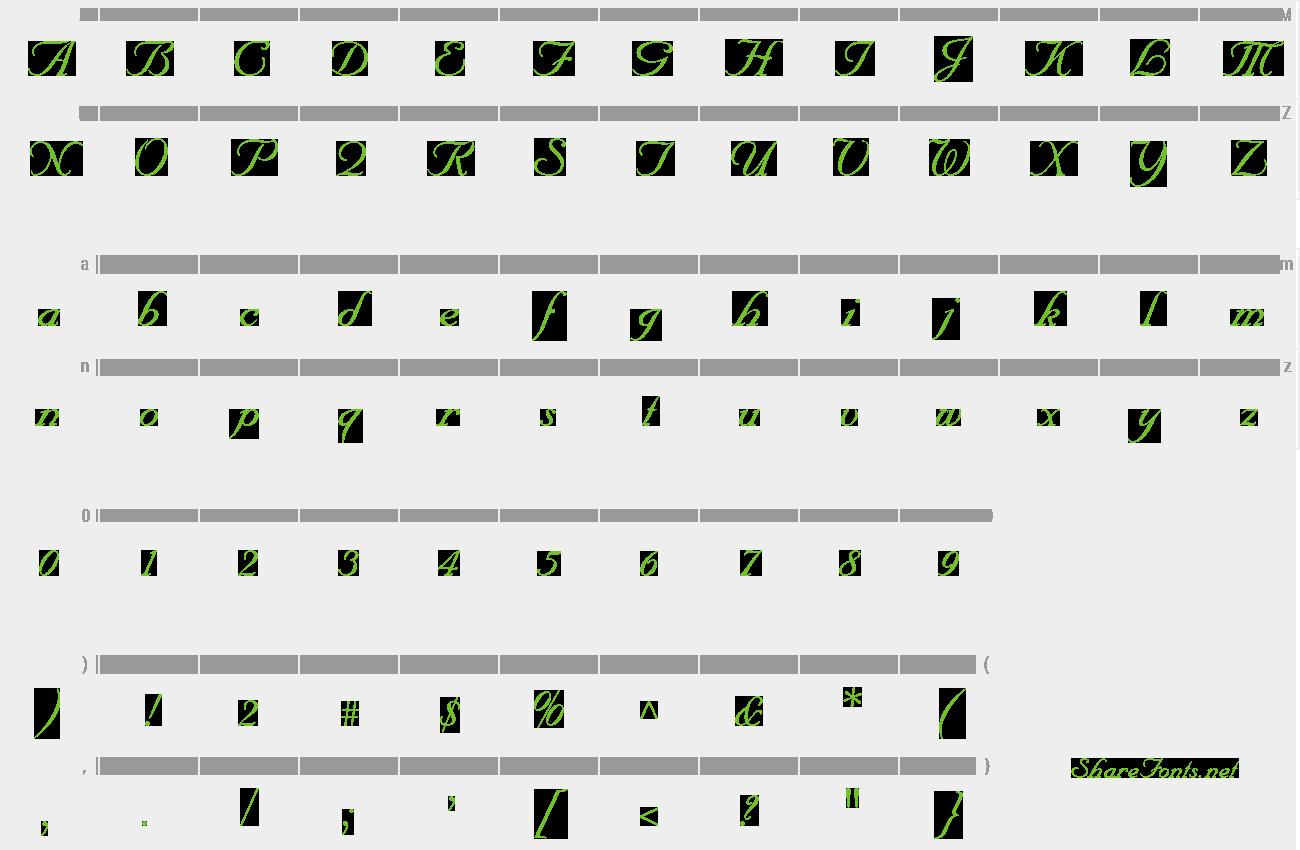 Download Free Font Nuance