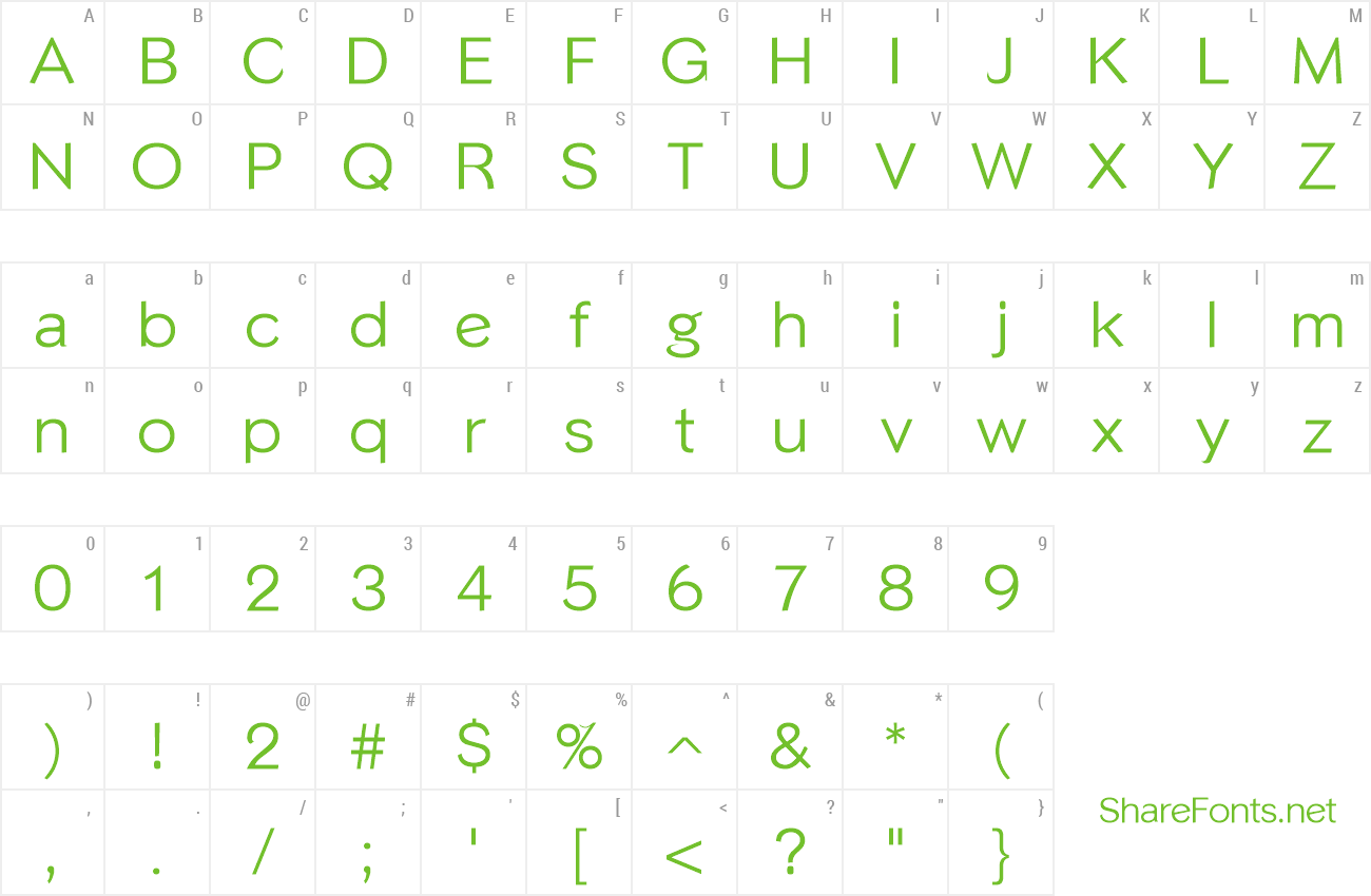 phinster font