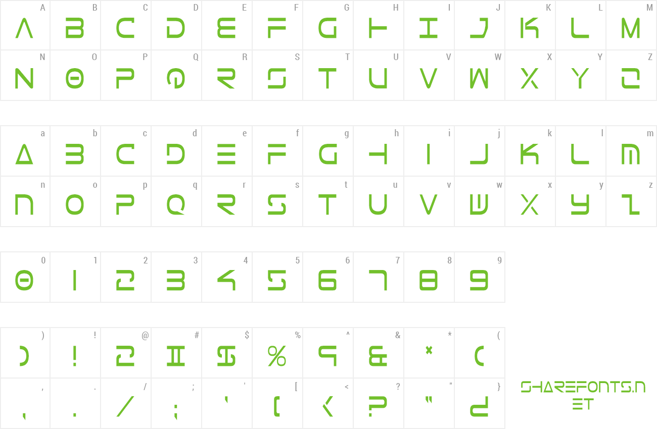 Font Tele-Marines Condensed preview