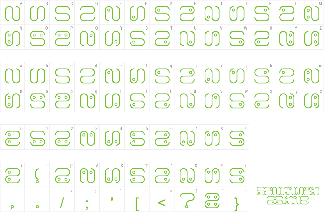 Download Free Font Alien Language