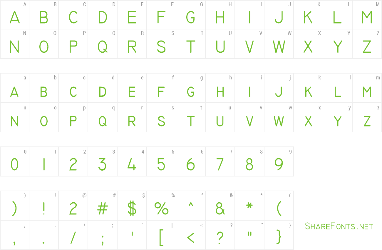 font technic preview