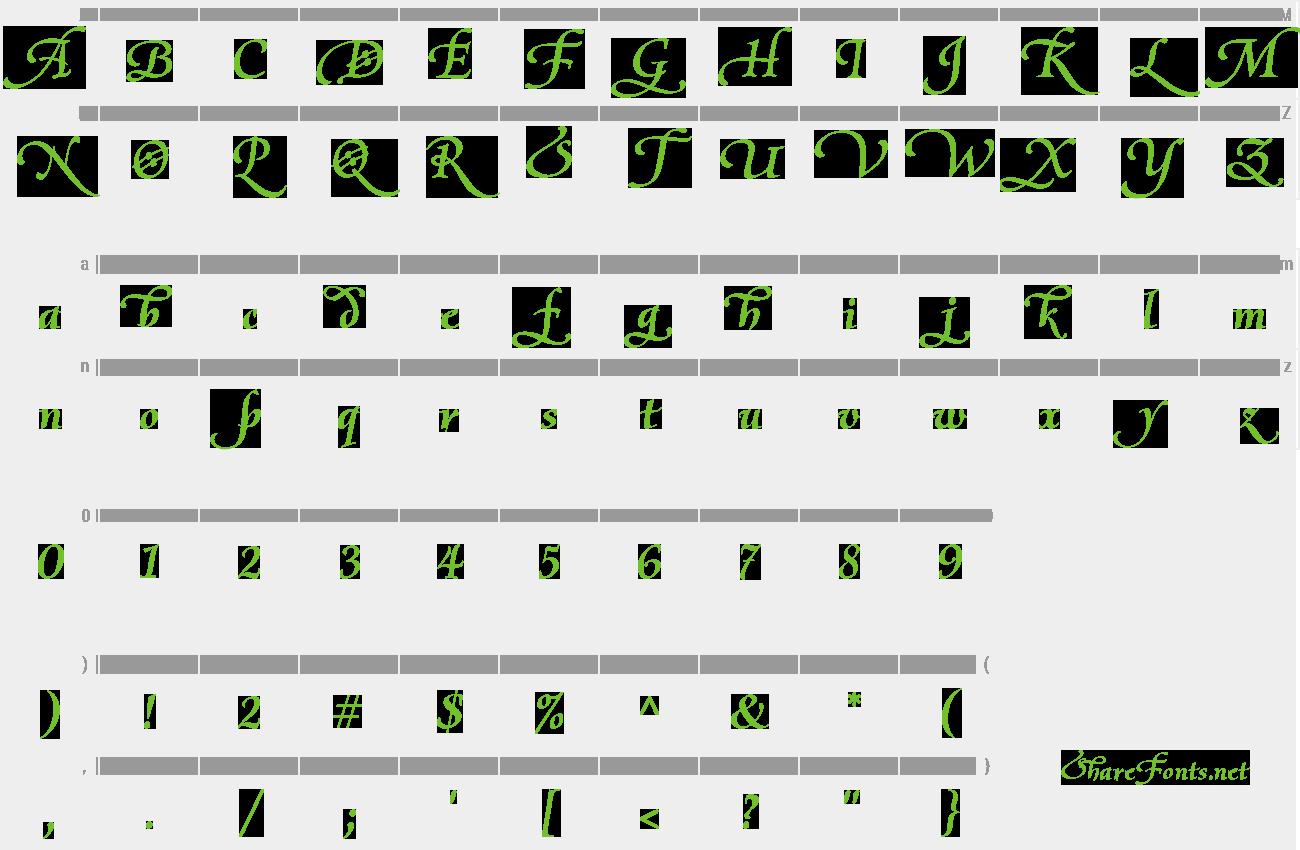 Download Free Font Olietta script Lyrica
