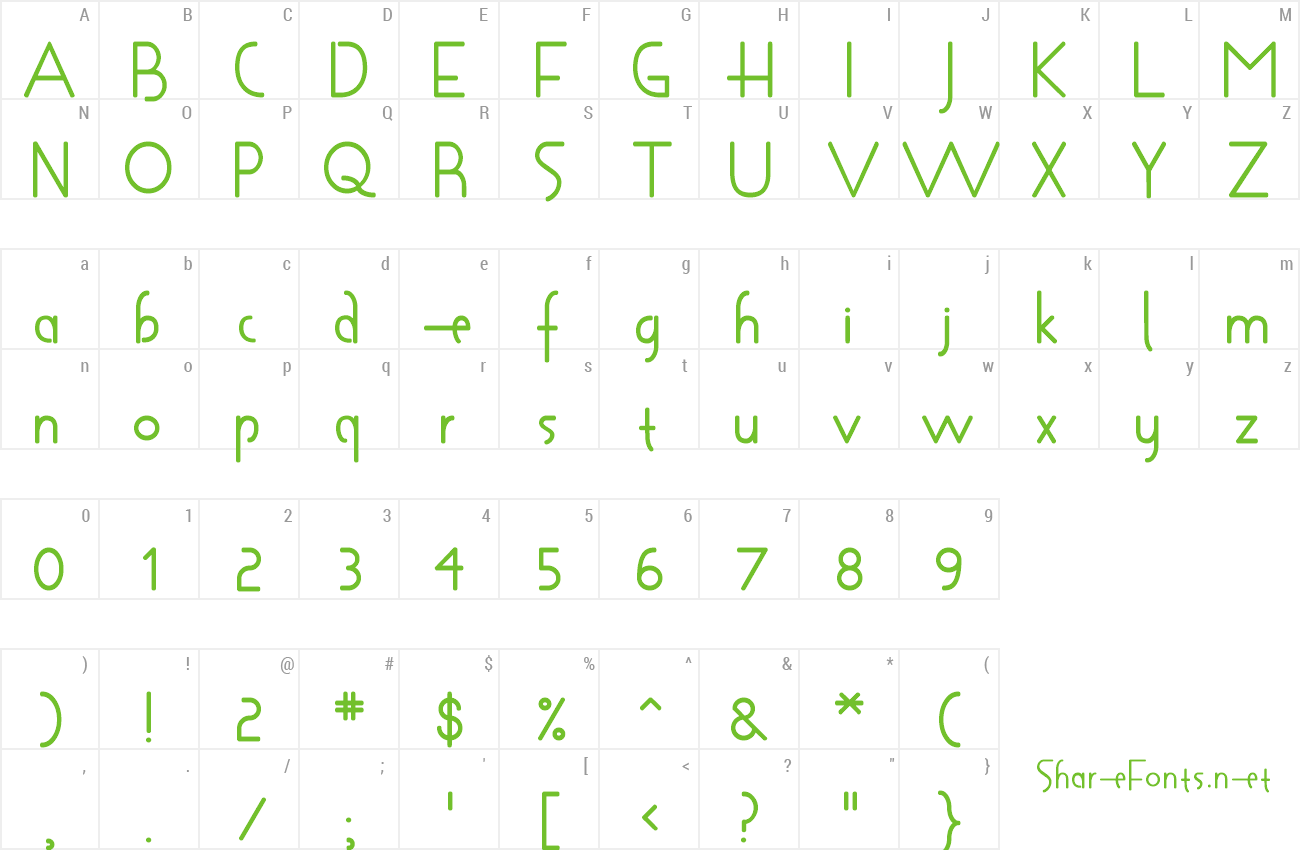 Font Shapeshifter preview