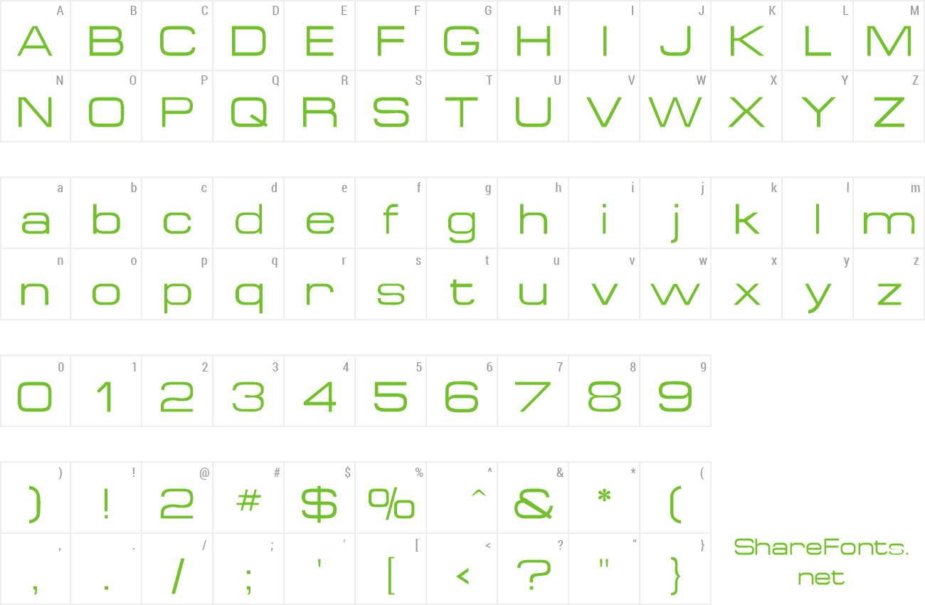 Font MichaelDB preview