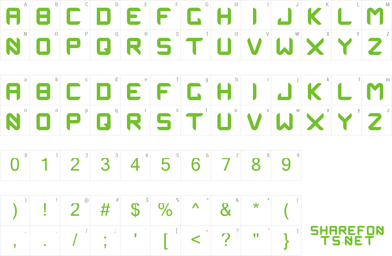 Font OneManArmy preview