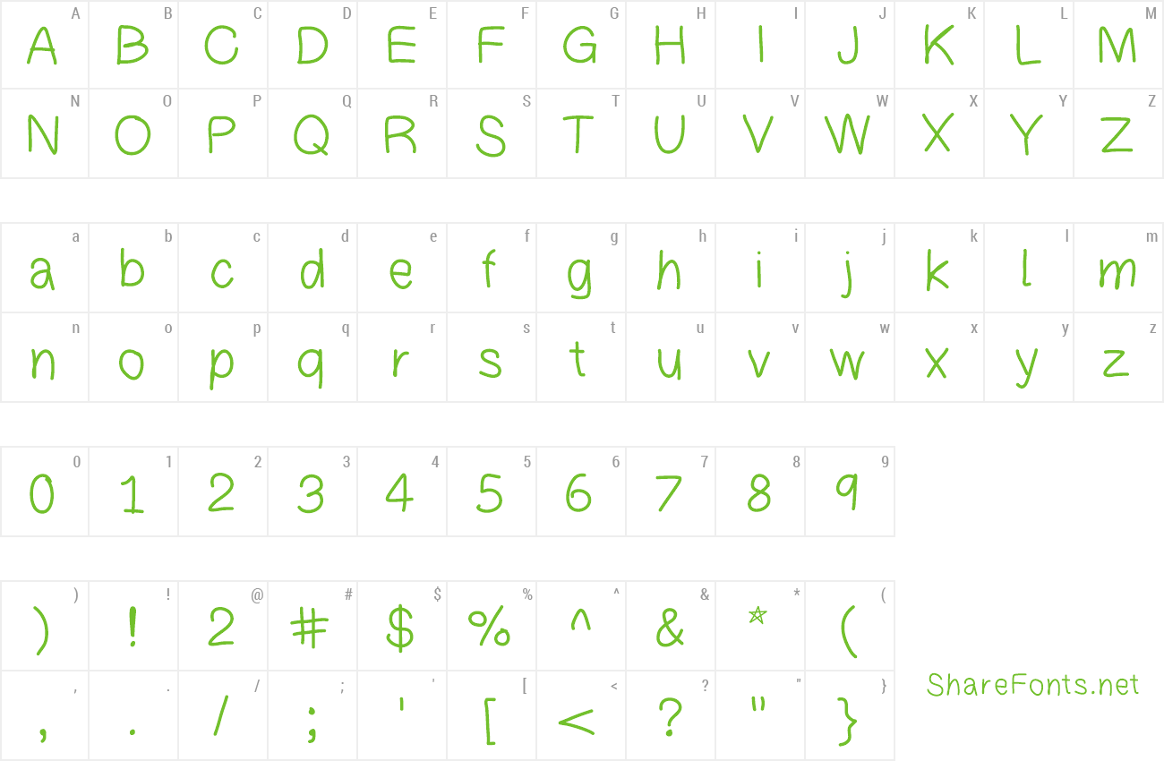Font PatchsFont preview