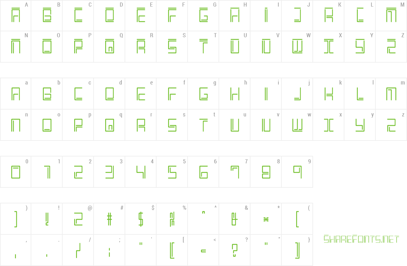 Font Welcome2M preview