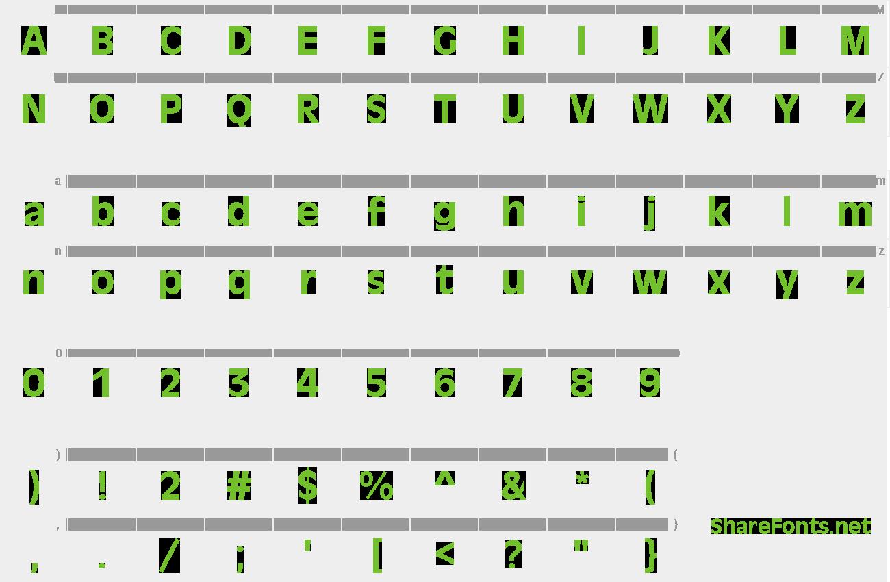 antigoni med font