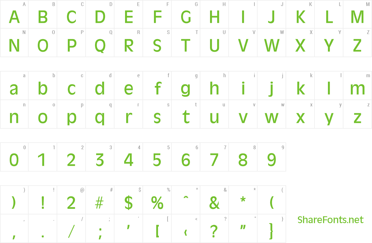Font Ravenna-Serial-Medium preview