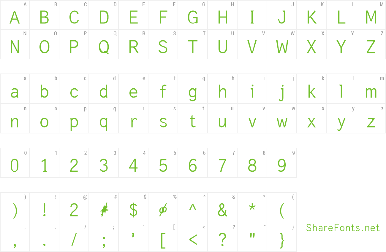 Font Ressurection preview