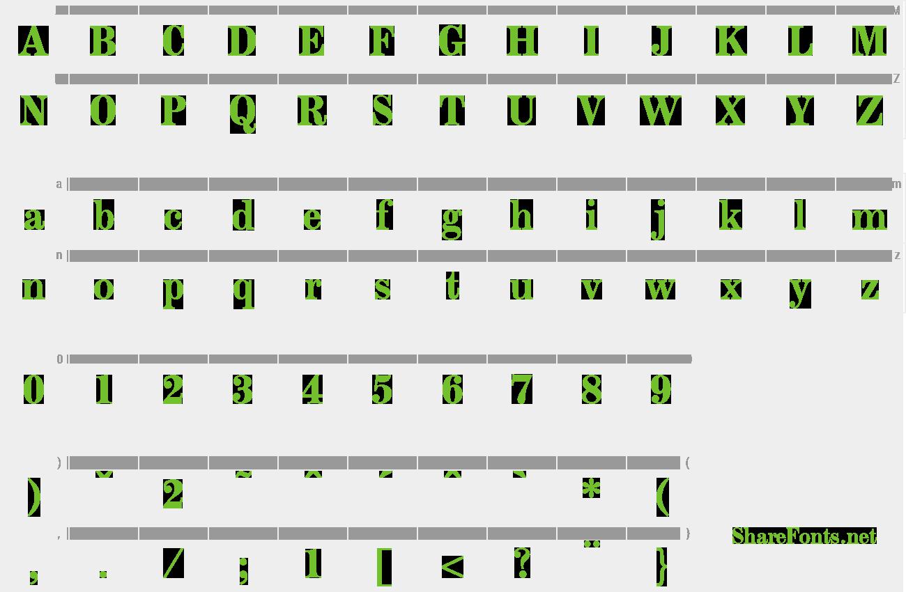 Download Free Font Modesto