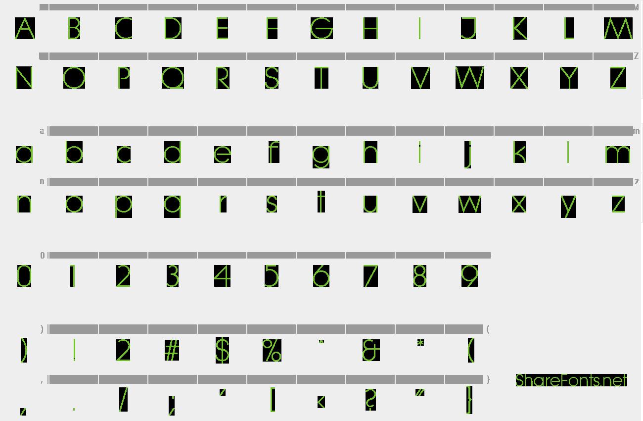 Download Free Font Litera Serial Light