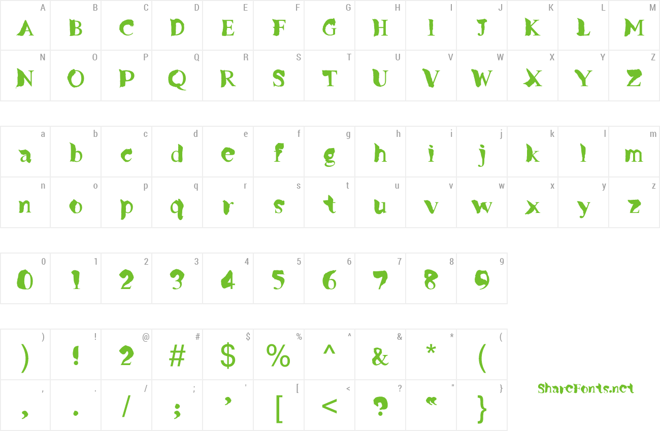 Font Missing Link preview