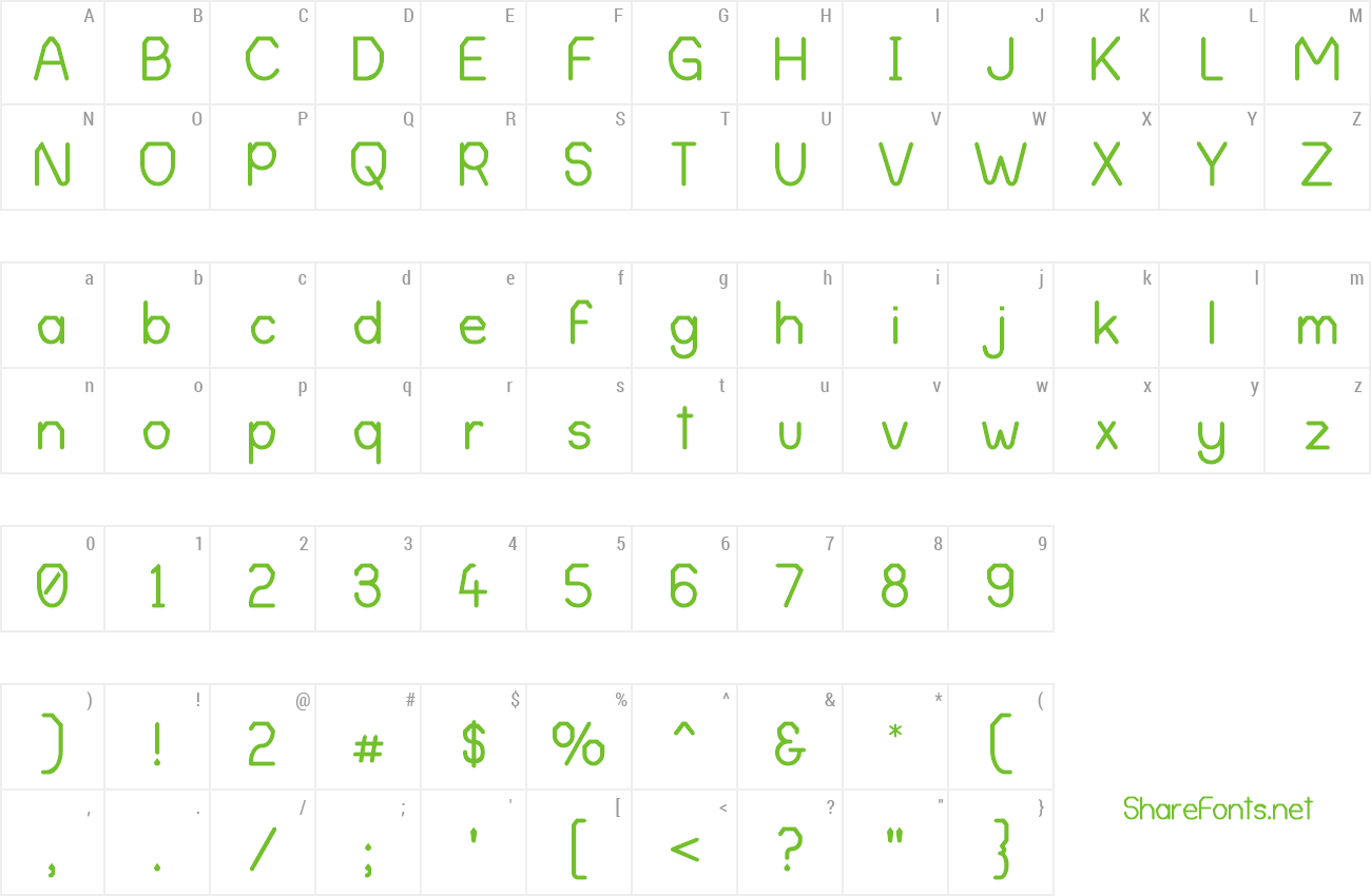 Font Alpha Romanie G98 preview
