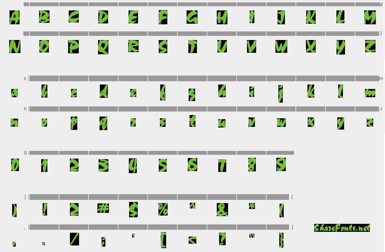 chokko font