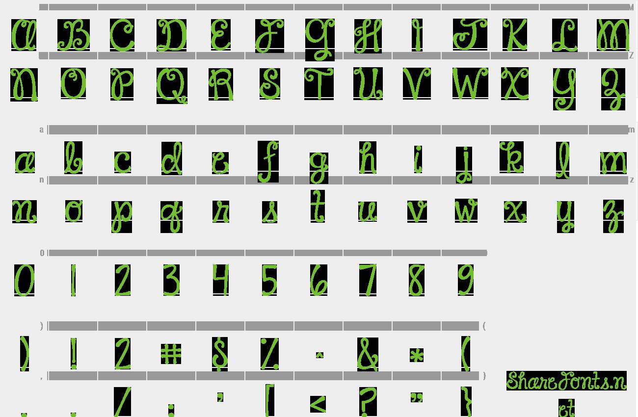 Download Free Font Janda Happy Day