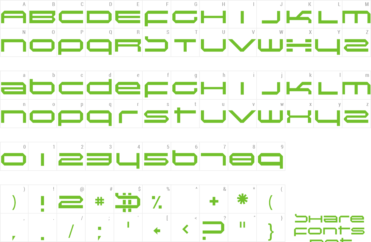 Font Induction preview
