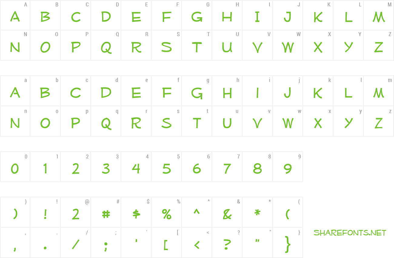 Font Mufferaw preview