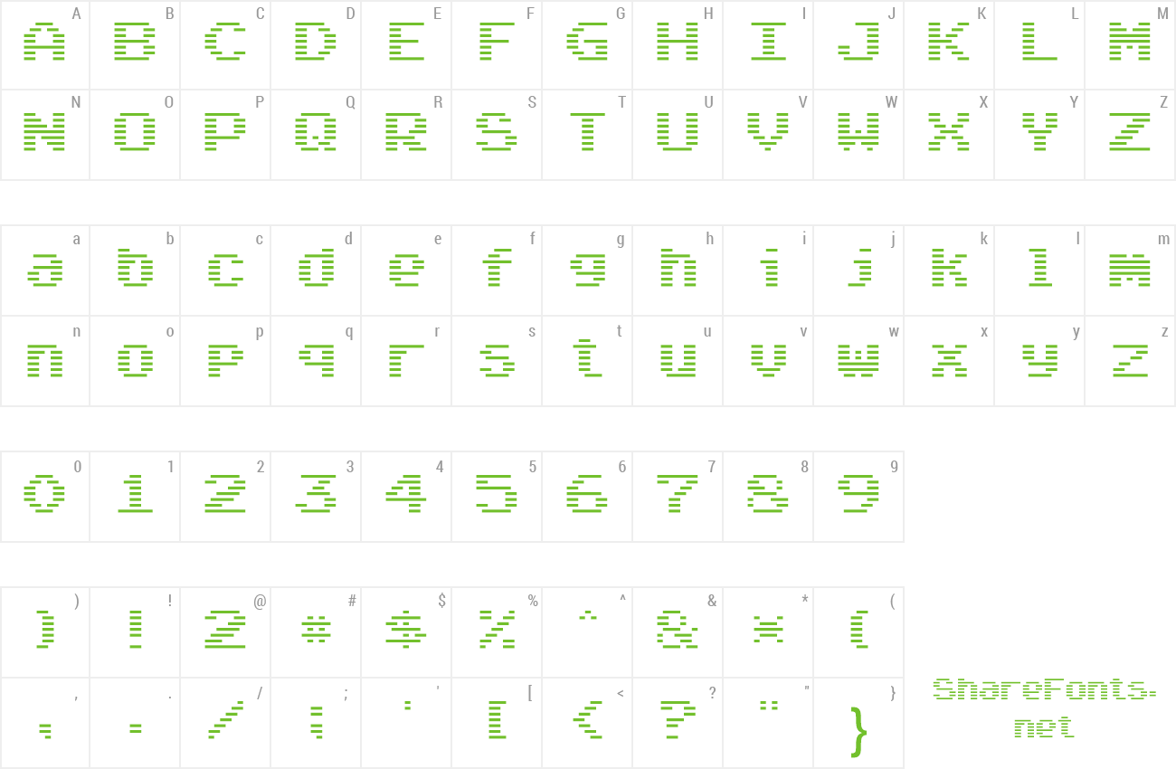 Font Arcade Classic preview