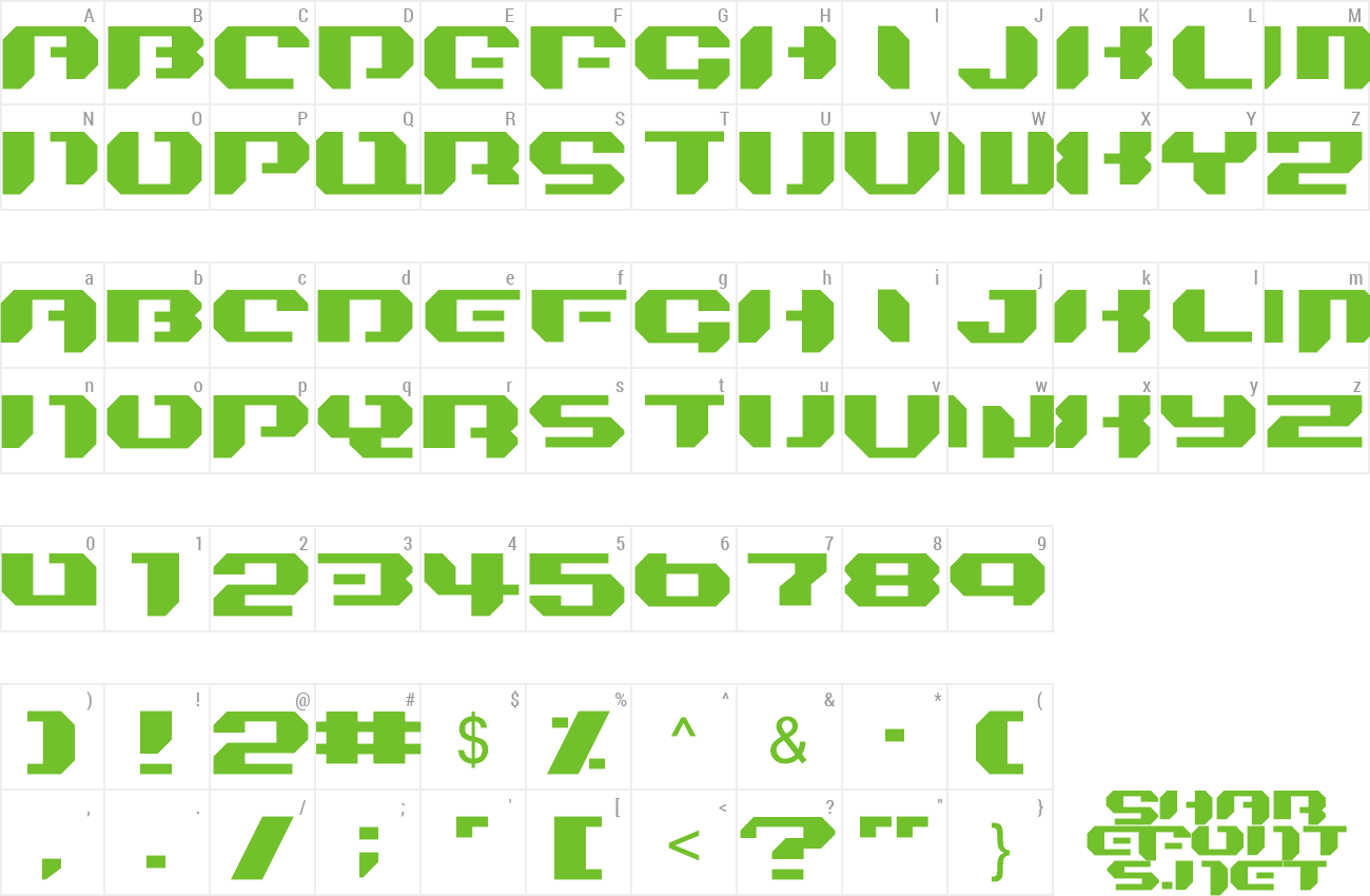 Font Bionic Kid Simple preview