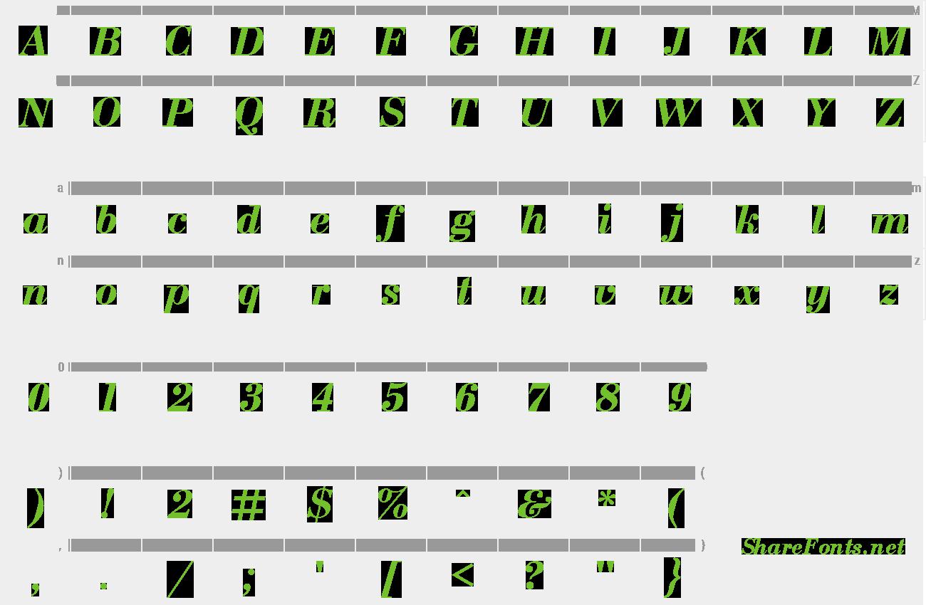 Download Free Font Bodoni